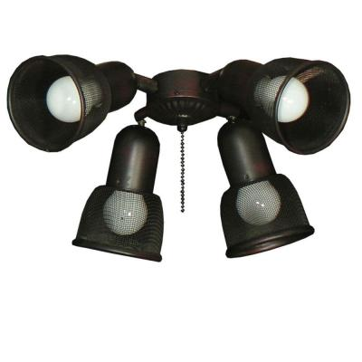 462 Mesh Spotlight Oil Rubbed Bronze Ceiling Fan Light